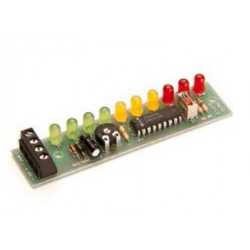 VU-Meter 10 leds color 12Vcc